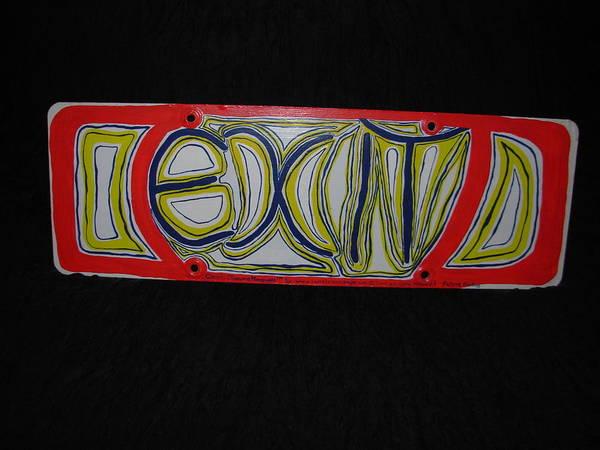 Painting - Exit Sign by Sophia Landau