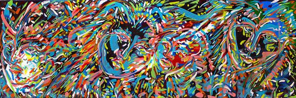 Ranchera Wall Art - Painting - Exodus 2 by Jimmy Longoria