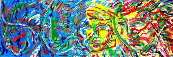 Ranchera Wall Art - Painting - Exodus 3 by Jimmy Longoria