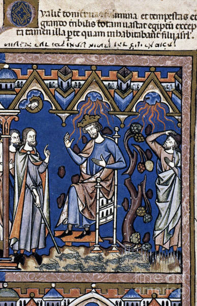 Photograph - Exodus: Plague Of Hail by Granger