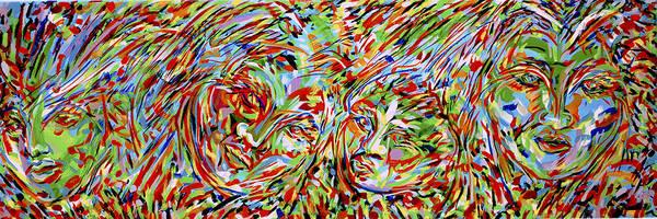 Ranchera Wall Art - Painting - Exodus 5 by Jimmy Longoria