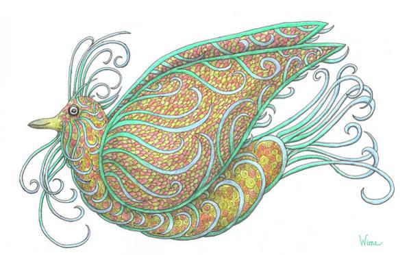 Painting - Exotic Bird IIi by Lise Winne