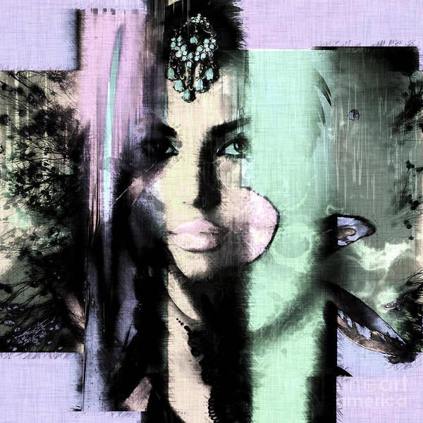 Digital Art - Exotic Colors by John Rizzuto