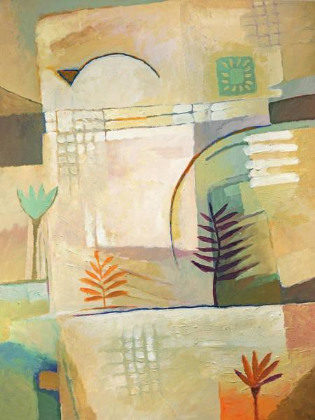 Painting - Exotic Site by Lutz Baar
