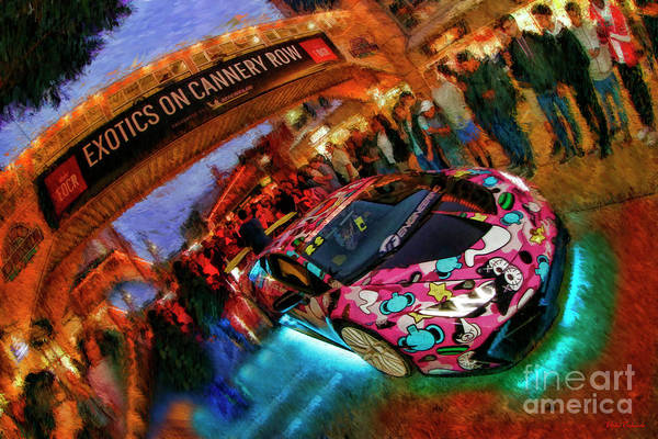 Photograph - Exotics On Cannery Row 2018 by Blake Richards