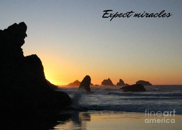 Photograph - Expect Miracles by Jenny Revitz Soper