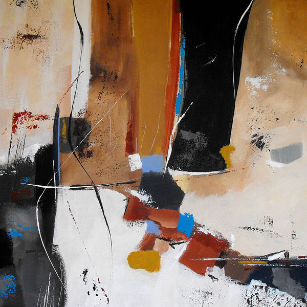 Irregular Painting - Expectations by Ruth Palmer