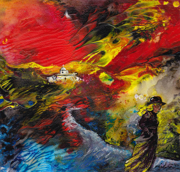 Painting - Expelled From The Land by Miki De Goodaboom