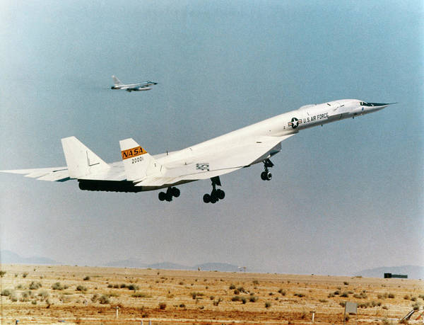 Photograph - Experimental Plane Xb-70 by Granger