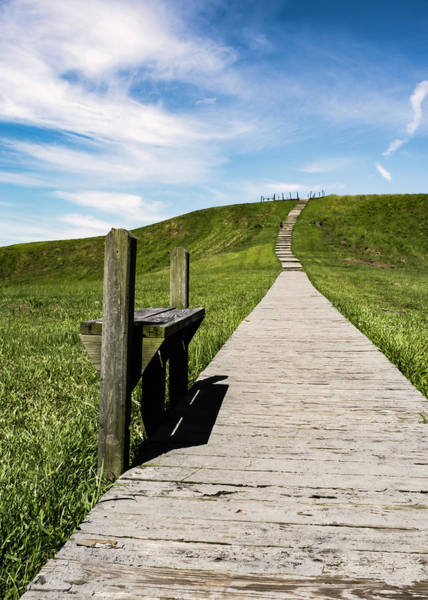 Photograph - Exploring Poverty Point, Louisiana by Chris Coffee