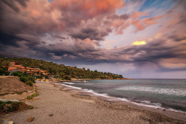 Photograph - Explosion Of Colored Clouds by Daniele Fanni