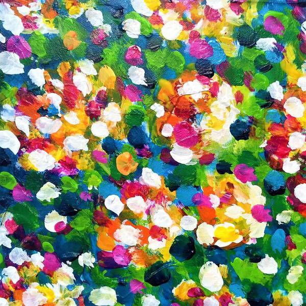 Painting - Explosion Of Colors by Cristina Stefan
