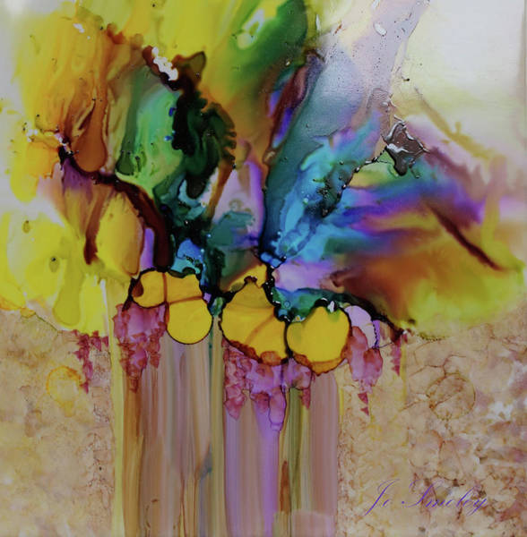 Painting - Explosion Of Petals by Joanne Smoley