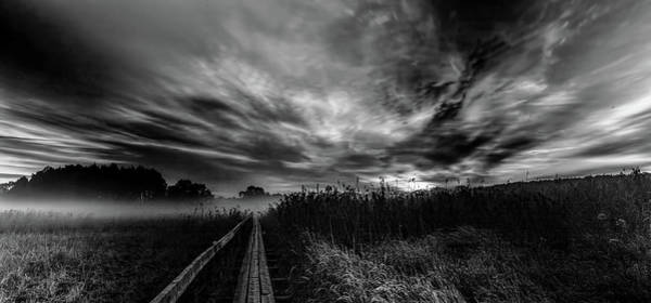 Photograph - Explosive Morning Bw #h0 by Leif Sohlman
