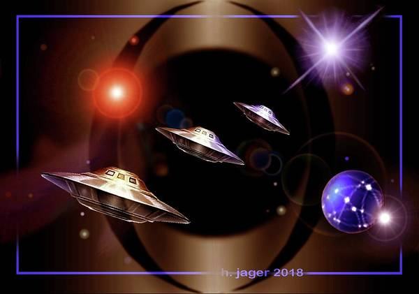 Digital Art - Explorers  by Hartmut Jager