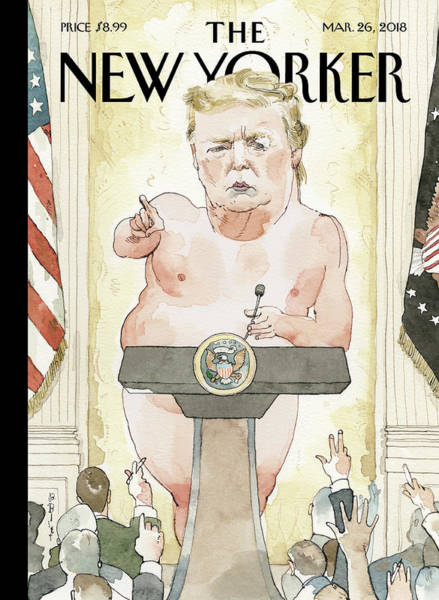 Government Drawing - Exposed by Barry Blitt