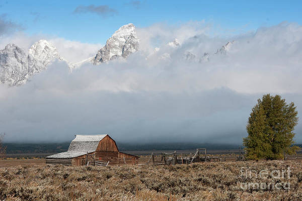 Wall Art - Photograph - Exposure - Grand Teton National Park by Sandra Bronstein