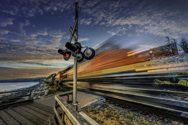 Train Photograph - Express Train by Alexander Hill