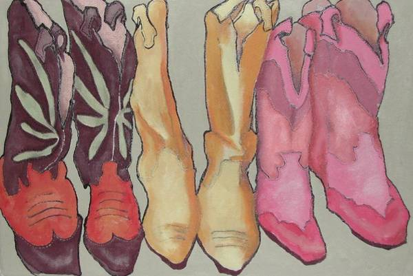 Boot Hill Painting - Express Yourself Creatively by Wendy Hill