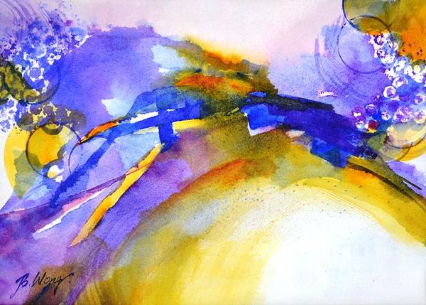 Painting - Expressive #3 by Betty M M Wong