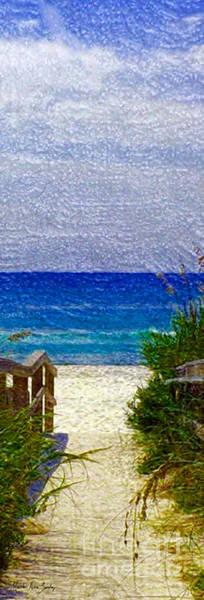 Painting - Expressive Digital Photo Pensacola Florida B52816 by Mas Art Studio