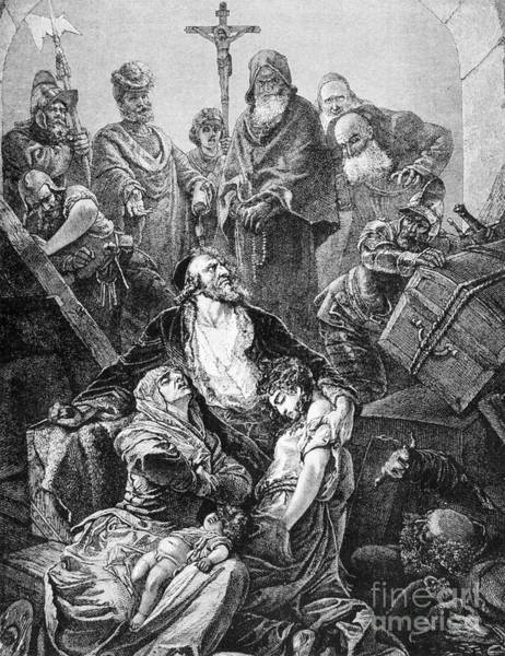 Aragon Photograph - Expulsion Of Jews, 1492 by Granger
