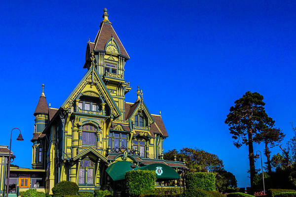 Queen Anne Style Photograph - Exquisite Carson Mansion  by Garry Gay