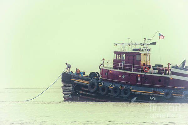 Photograph - Extend The Tow Line by Dale Powell