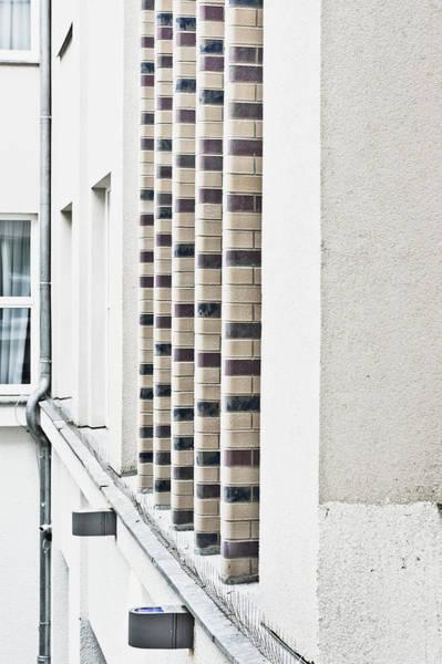Multi-storey Wall Art - Photograph - Exterior Detail by Tom Gowanlock