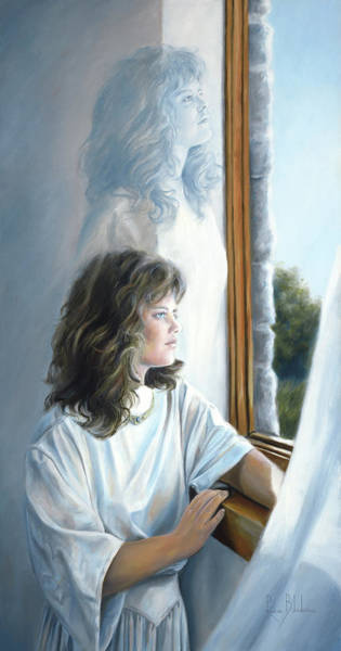Angelic Beings Painting - Exteriorization by Lucie Bilodeau