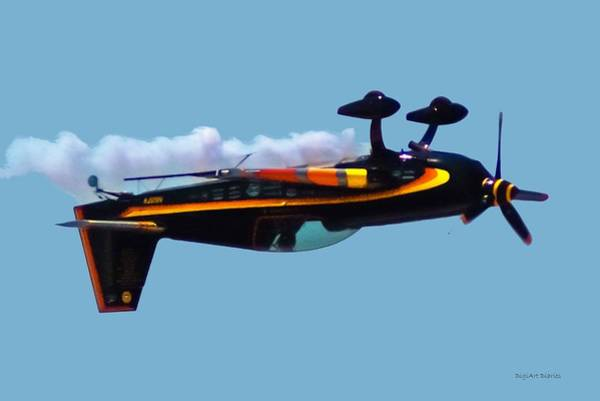 Propellors Digital Art - Extra 300s Stunt Plane by DigiArt Diaries by Vicky B Fuller