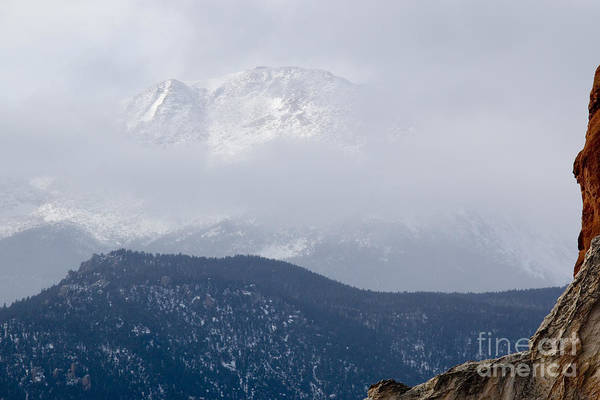 Photograph - Extreme Winter Weather On Pikes Peak by Steve Krull