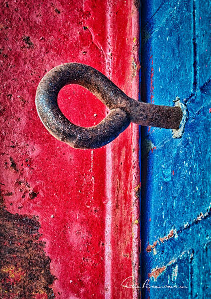 Photograph - Eye Bolt 0432 by Dan Beauvais