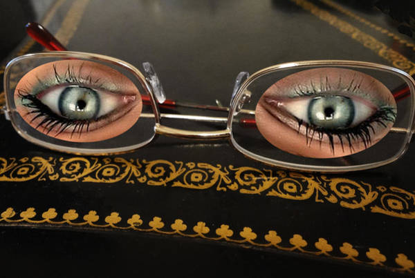 Humor In Art And Photograph - Eye Glasses by Bruce Iorio
