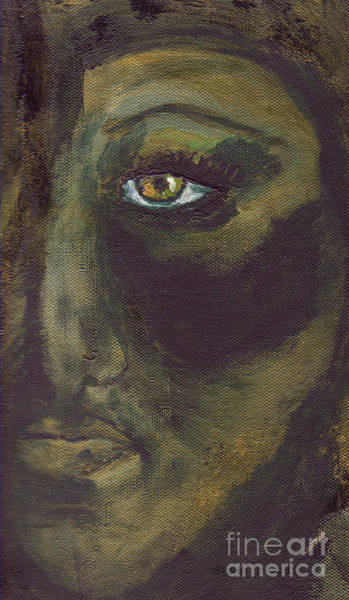 Painting - Eye Of Ivy by Shelley Jones