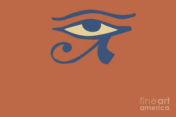 Ra Digital Art -  Eye Of Ra by Chitra Helkar