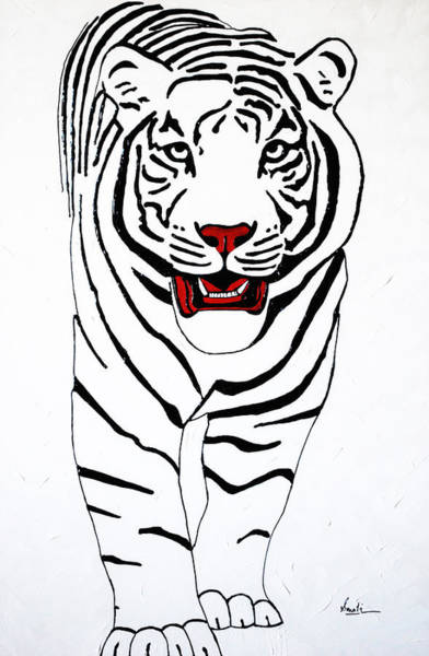 Painting - Eye Of The Tiger by Sonali Kukreja