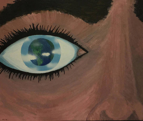 Painting - Eye Of The World by Thomas Blood