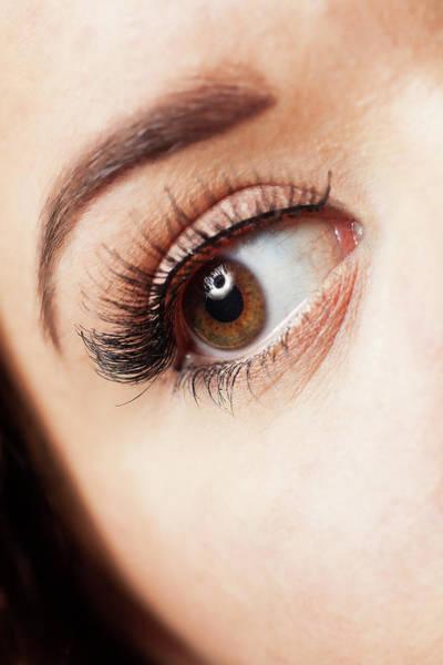 Iris Photograph - Eye by Samuel Whitton