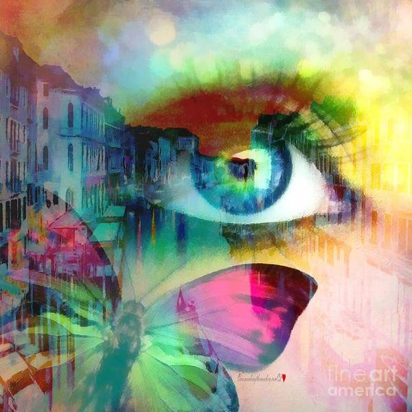 Painting - Eye Speyed In Italian  by Catherine Lott
