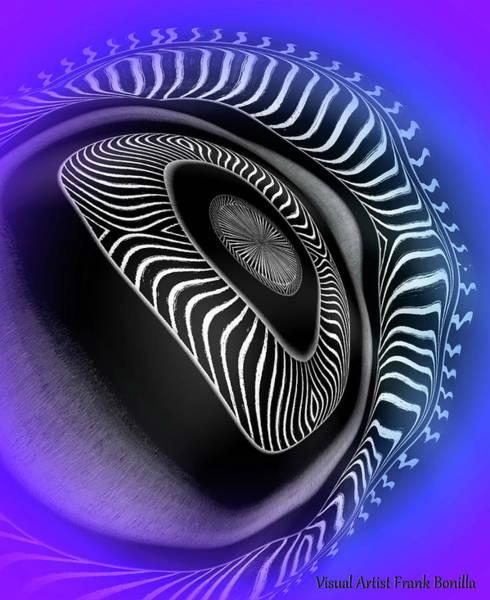 Digital Art - Eyeball by Visual Artist Frank Bonilla