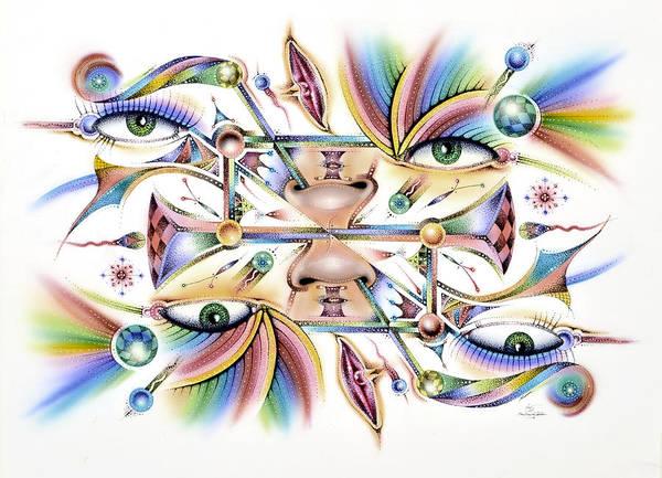 Painting - Eyecolor 2 by Sam Davis Johnson