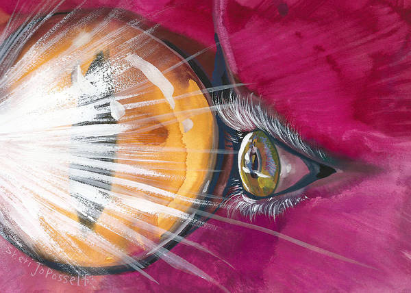 Eyelights Art Print