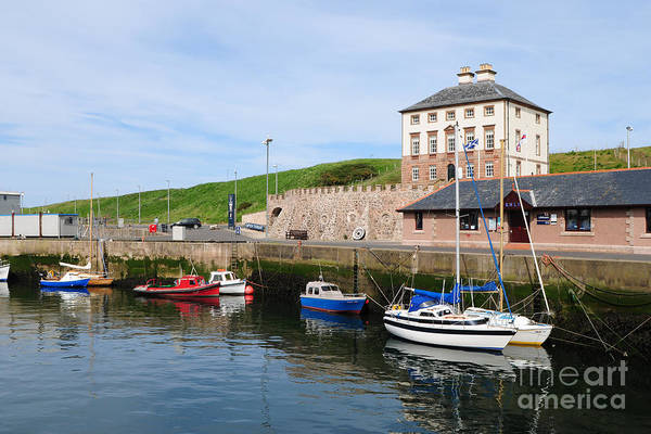 Border Wall Art - Photograph - Eyemouth by Smart Aviation