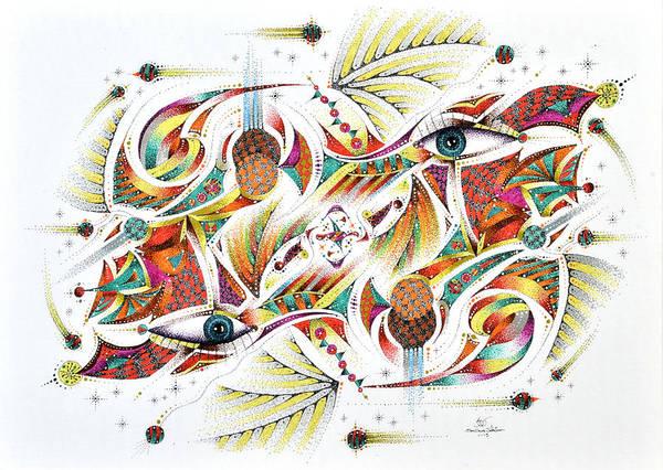 Mixed Media - Eyepsych by Sam Davis Johnson