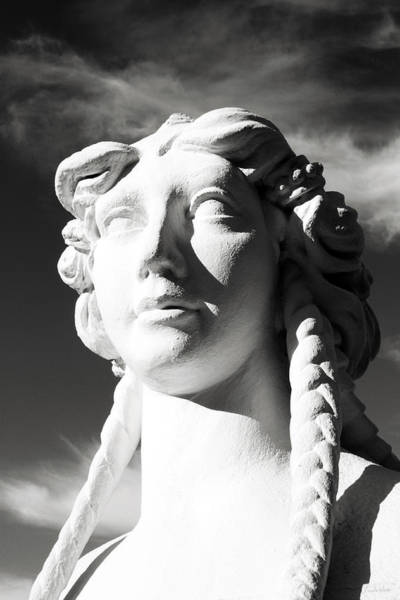 Statue Wall Art - Photograph - Eyes In The Sky- Fine Art Photography By Linda Woods by Linda Woods