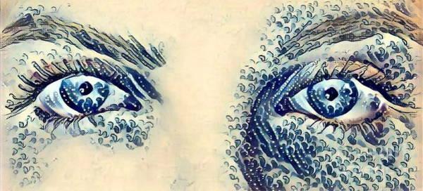 Sultry Digital Art - Eyes Of A Goddess  by Scott D Van Osdol