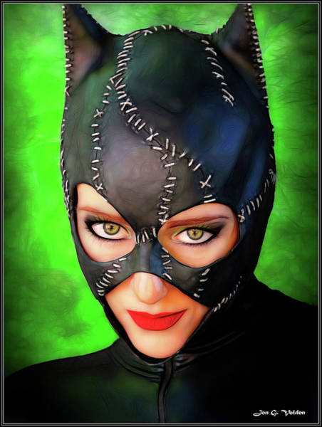 Photograph - Eyes Of The Cat Woman by Jon Volden