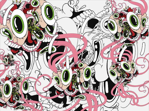 Eyeball Digital Art - Eyesore IIi by Dan Fluet