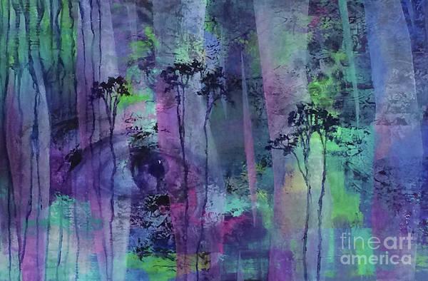 Eyeballs Painting - Eyewitness by Carol McIntyre